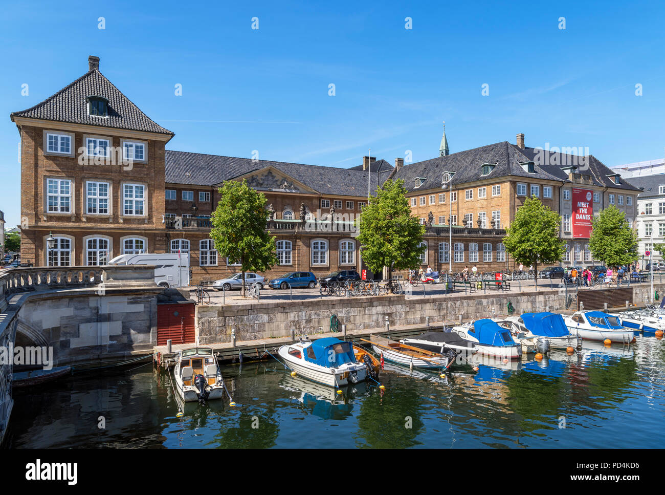 The National Museum (Nationalmuseet), Copenhagen, Zealand, Denmark - Stock Image