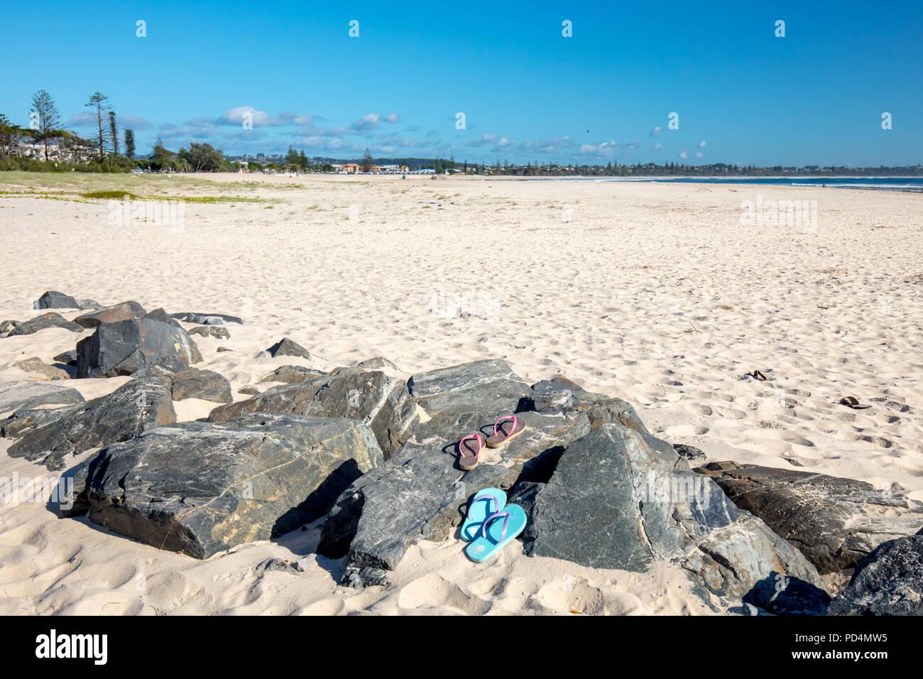 Kingscliff Beach Australia - Stock Image