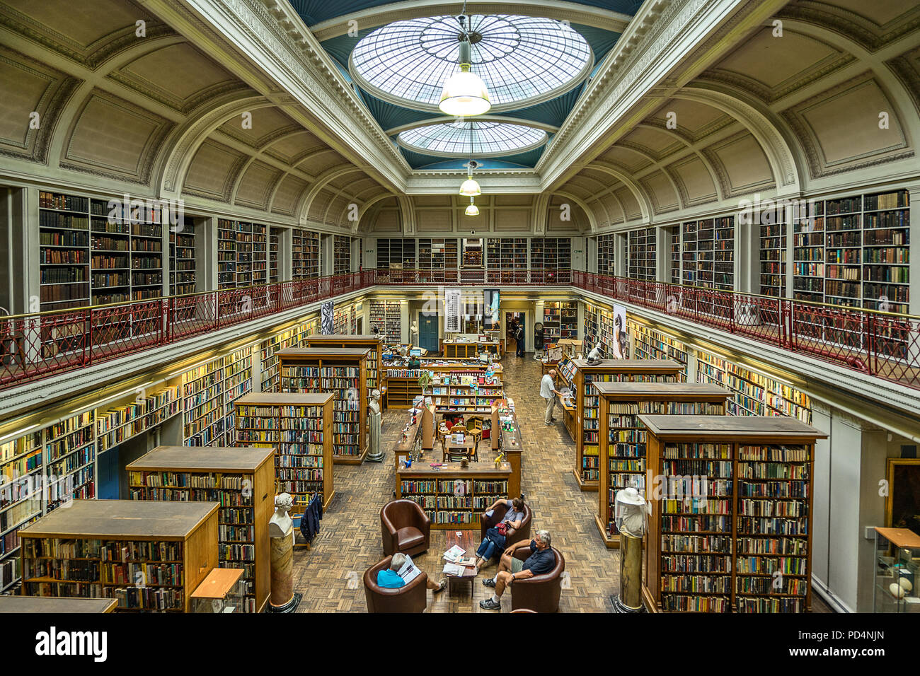 Literary and Philosophical Society of Newcastle - Stock Image