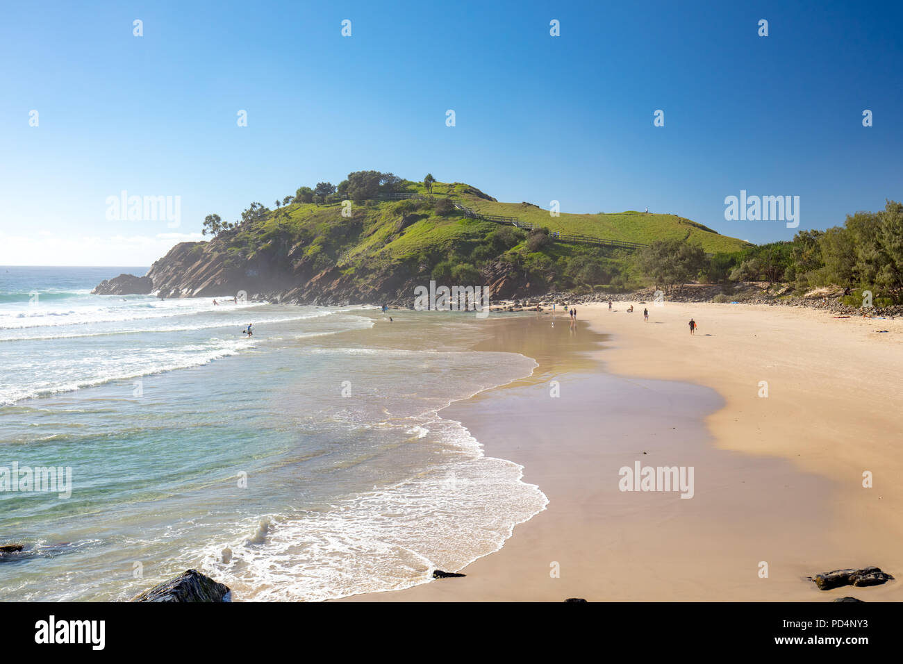 Cabarita Beach Australia - Stock Image