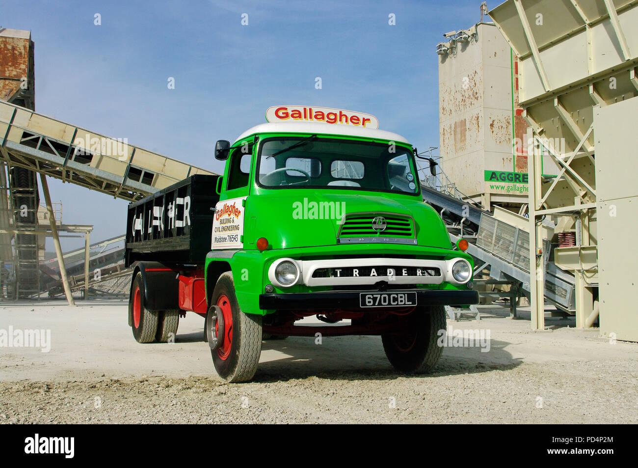 1962 Thames Trader Mkll truck - Stock Image