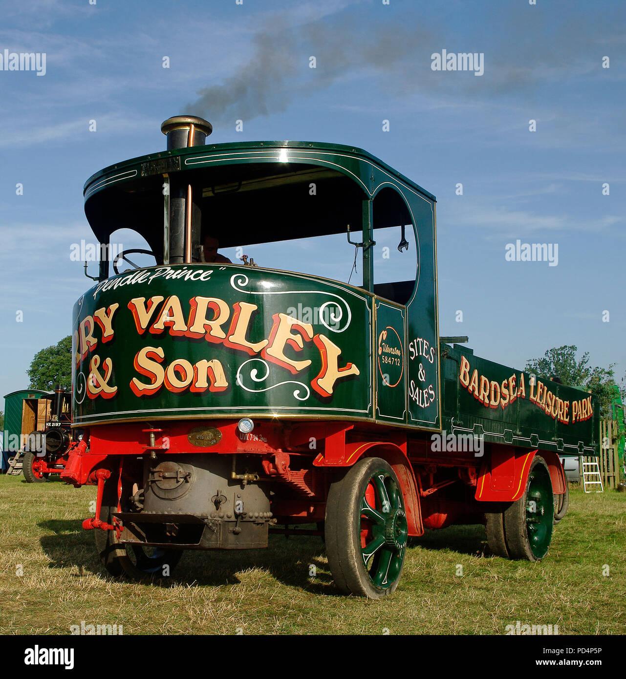 1931 Fowler Steam Wagon - Stock Image
