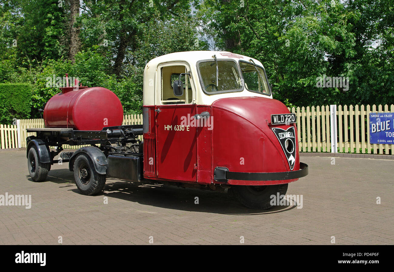 Scammell Scarab with Trailer - Stock Image