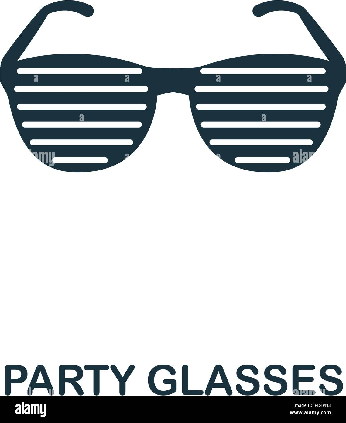 Party Glasses Creative Icon Simple Element Illustration Party