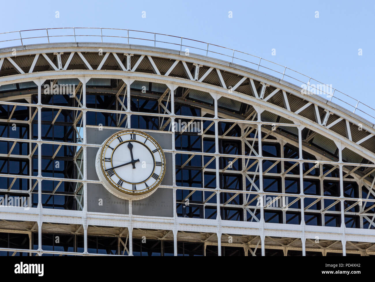 Manchester Central, formerly G-Mex exhibition centre in Manchester. - Stock Image