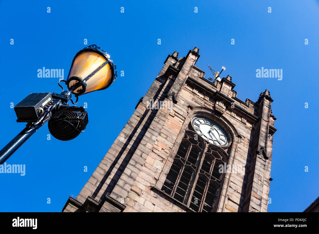 Sacred Trinity Church on Chapel Street, Salford - Stock Image