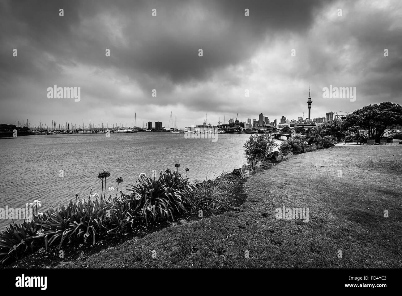 St. Mary's Bay, Auckland, New Zealand - Stock Image