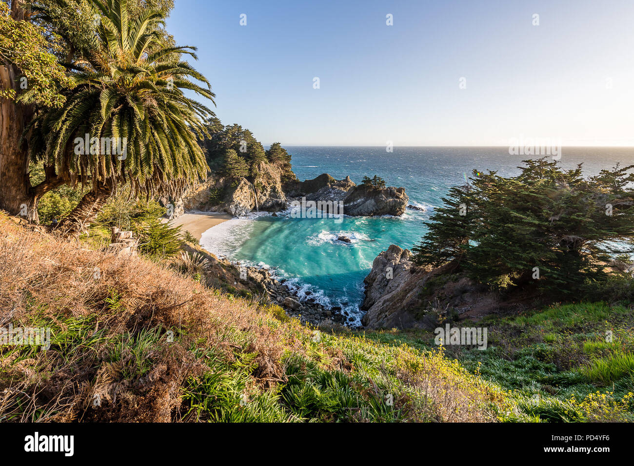 Big Sur and the California Coast - Stock Image