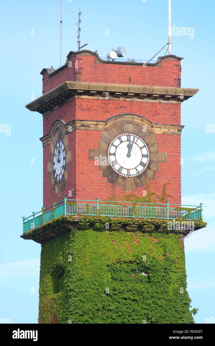 Seacroft Hospital Clock Tower , a Grade II listed building - Stock Image
