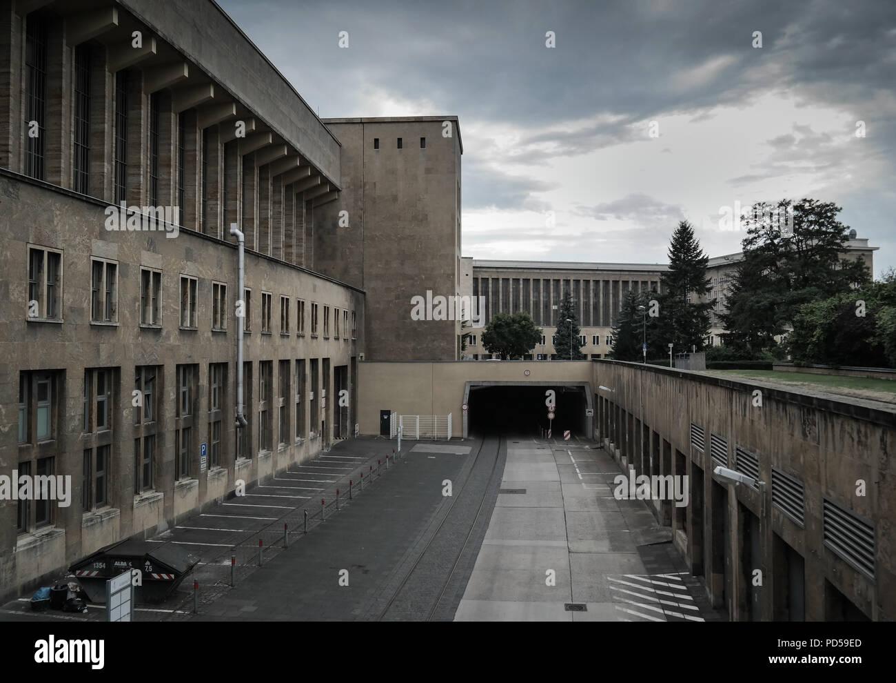 Berlin, Schöneberg,Flughafen Tempelhof - Stock Image