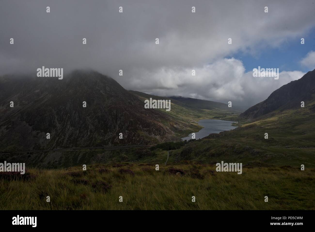 Snowdonia, North Wales National Parks - Stock Image