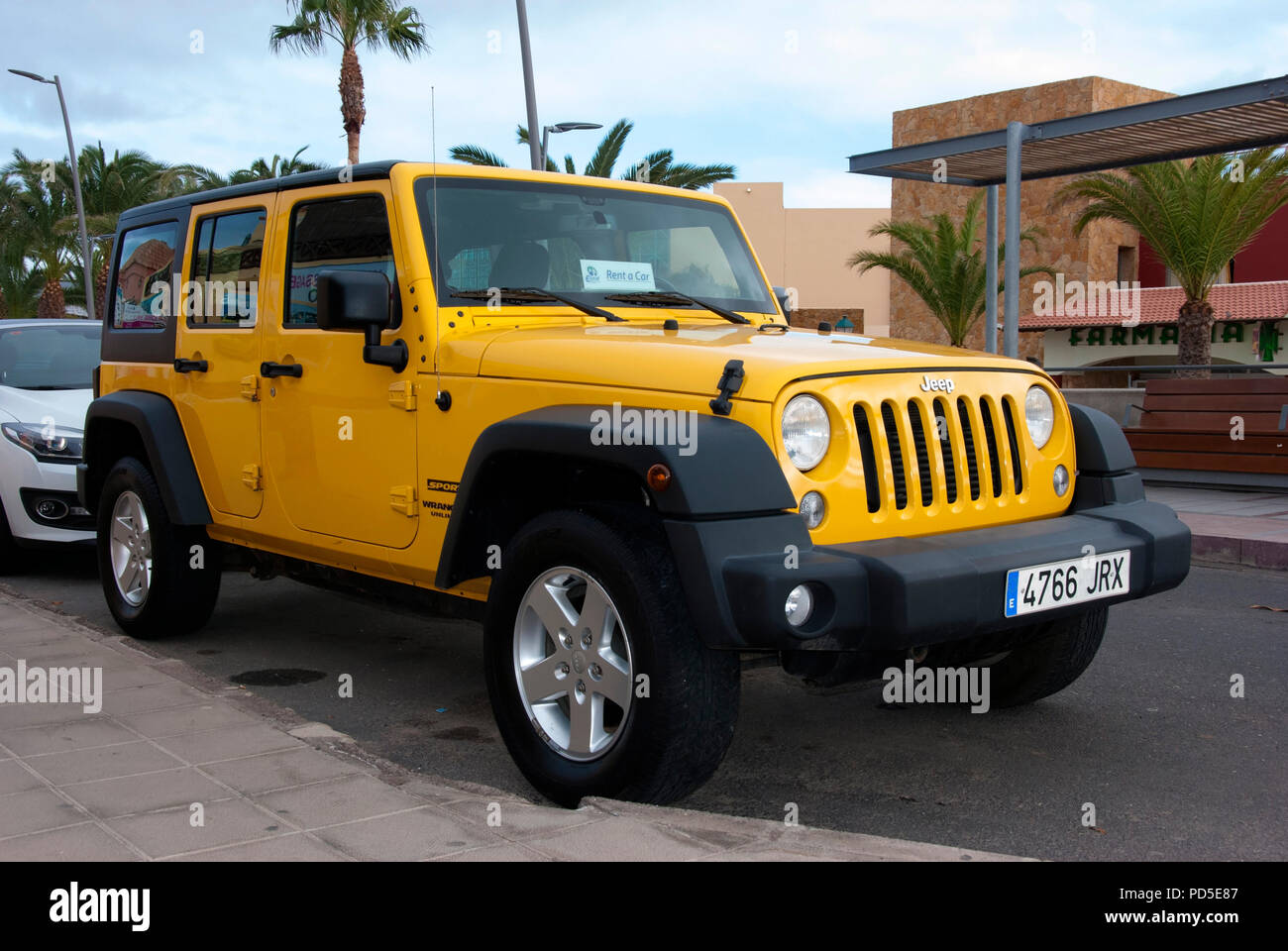Jeep Wrangler Car Rental Toronto