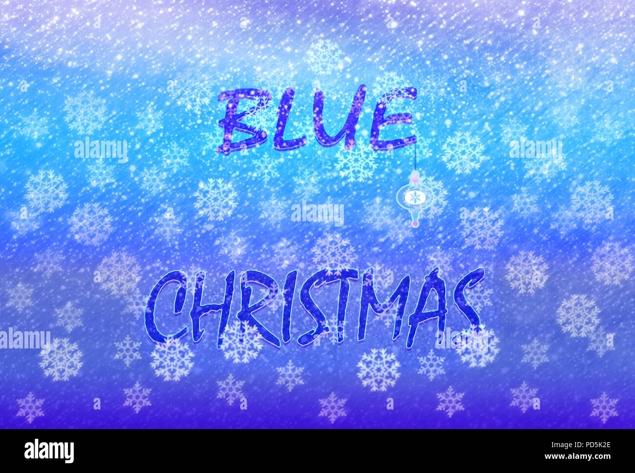 Christmas Without You.I Ll Have A Blue Christmas Without You Stock Photo