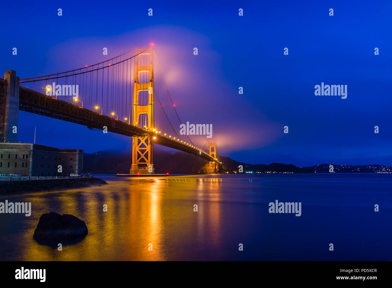 Fort Point - Stock Image