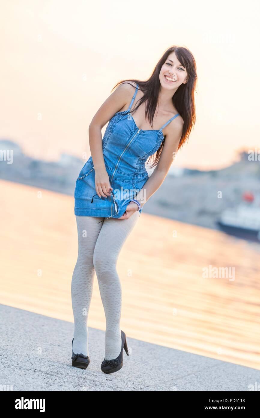 Teenager girl - Stock Image