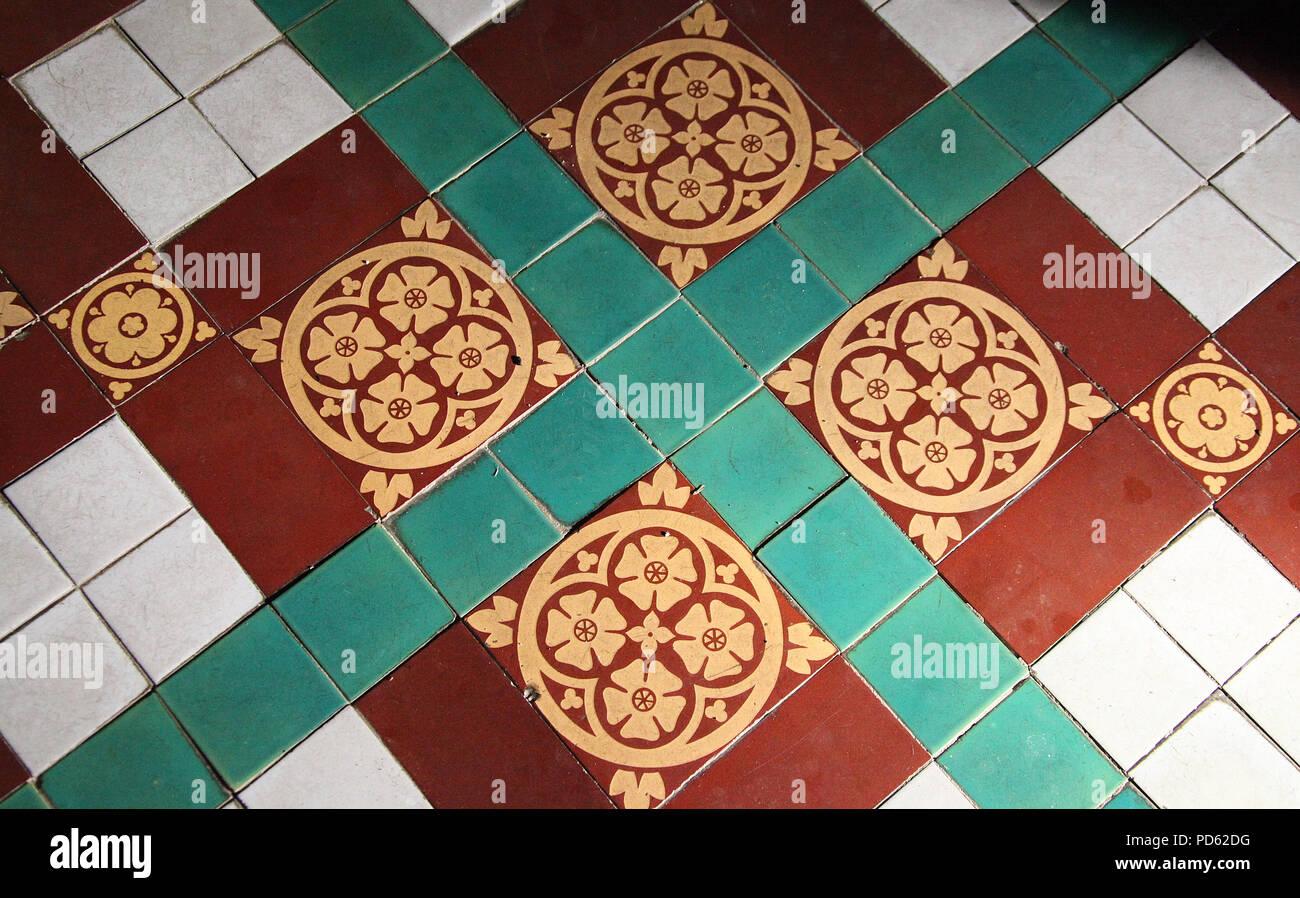 Minton Tiles Stock Photos Minton Tiles Stock Images Alamy