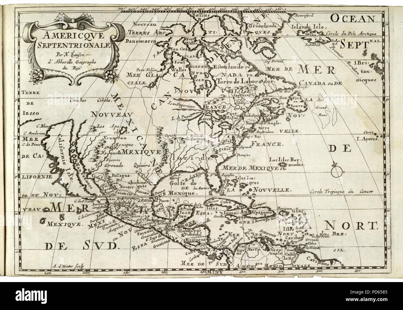 USA NORTH & CENTRAL AMERICA BLACKIE 1893 old map Caribbean ...