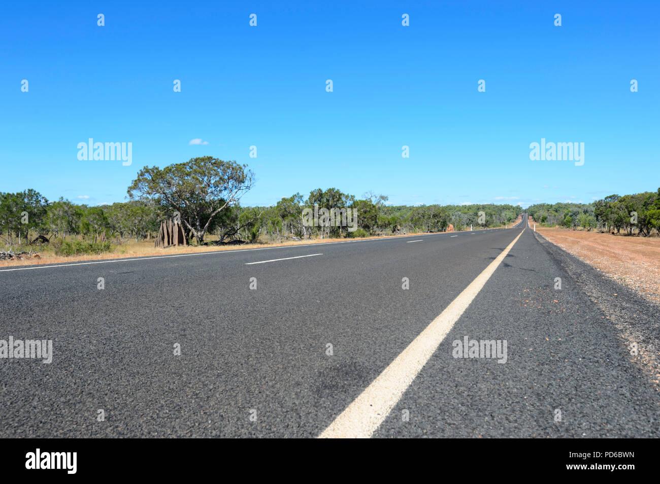 Peninsula Development Road (PDR), Cape York Peninsula, Far North Queensland, FNQ, QLD, Australia - Stock Image