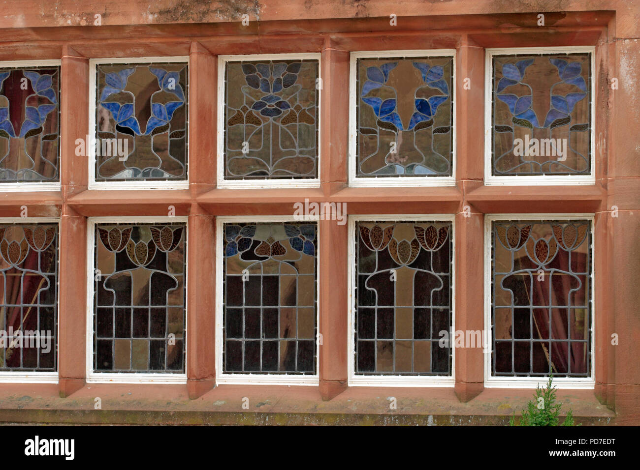 Stained Glass windows - Stock Image