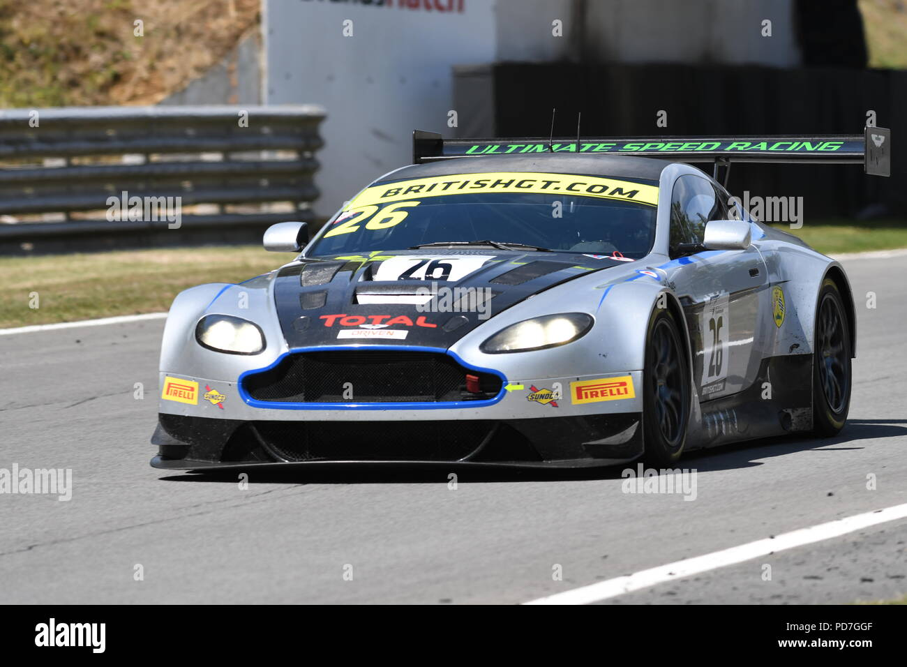 British GT Championship Brands Hatch - Stock Image