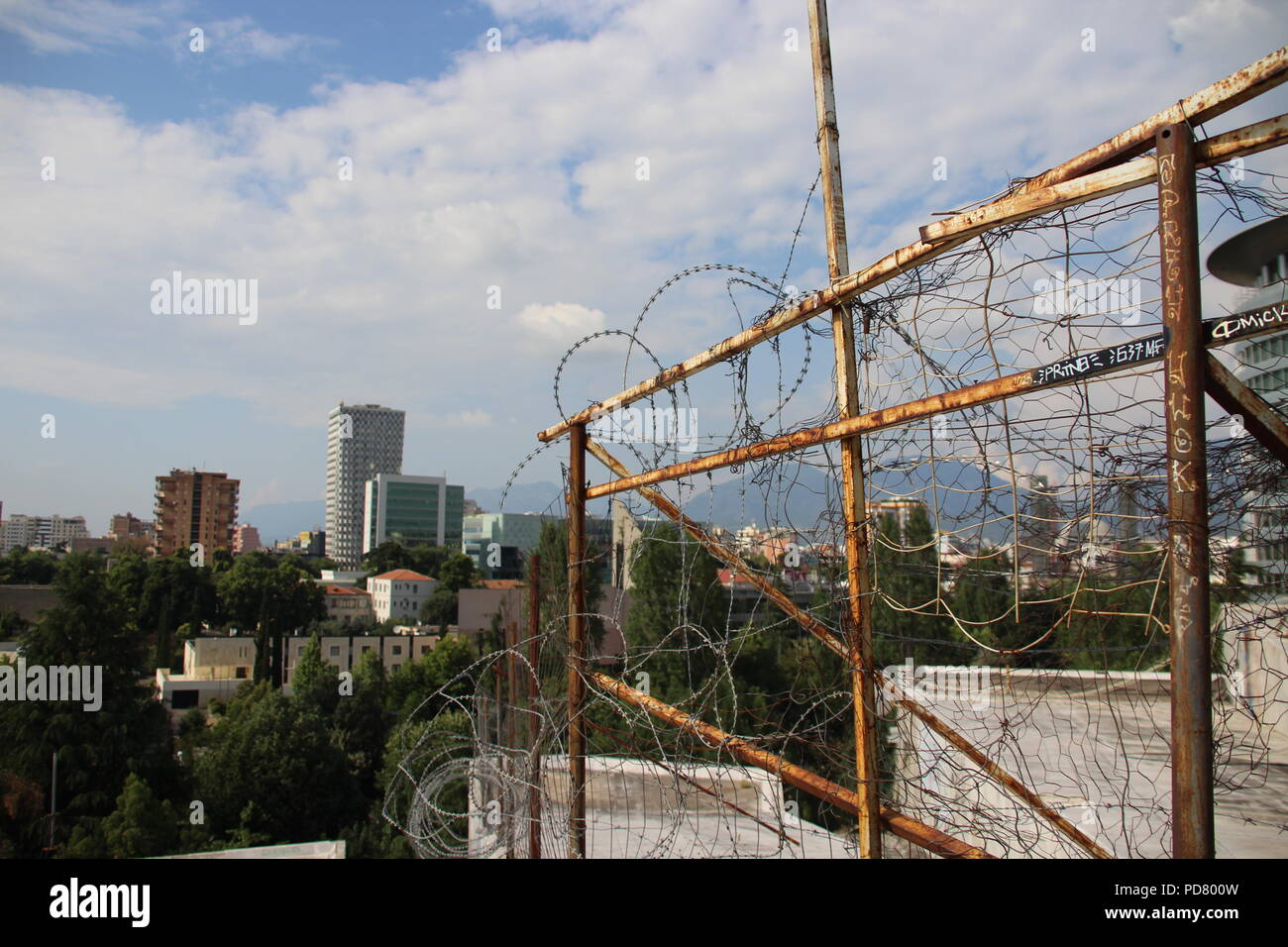 Tirana, Albania Stock Photo