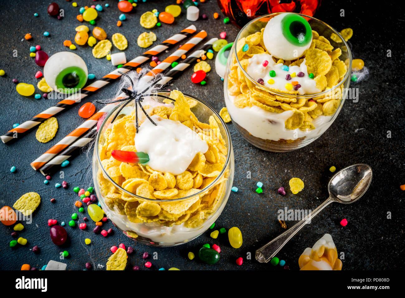 halloween food ideas stock photos & halloween food ideas stock