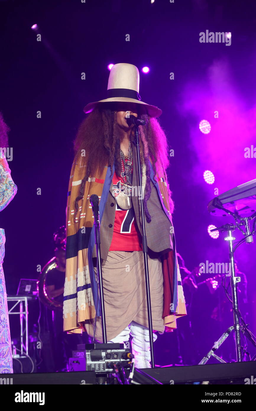 9b3cd1dc42c6ea 2018 Essence Festival New Orleans Held at the Mercedes-Benz Superdome  Featuring  Erykah Badu Where  New Orleans