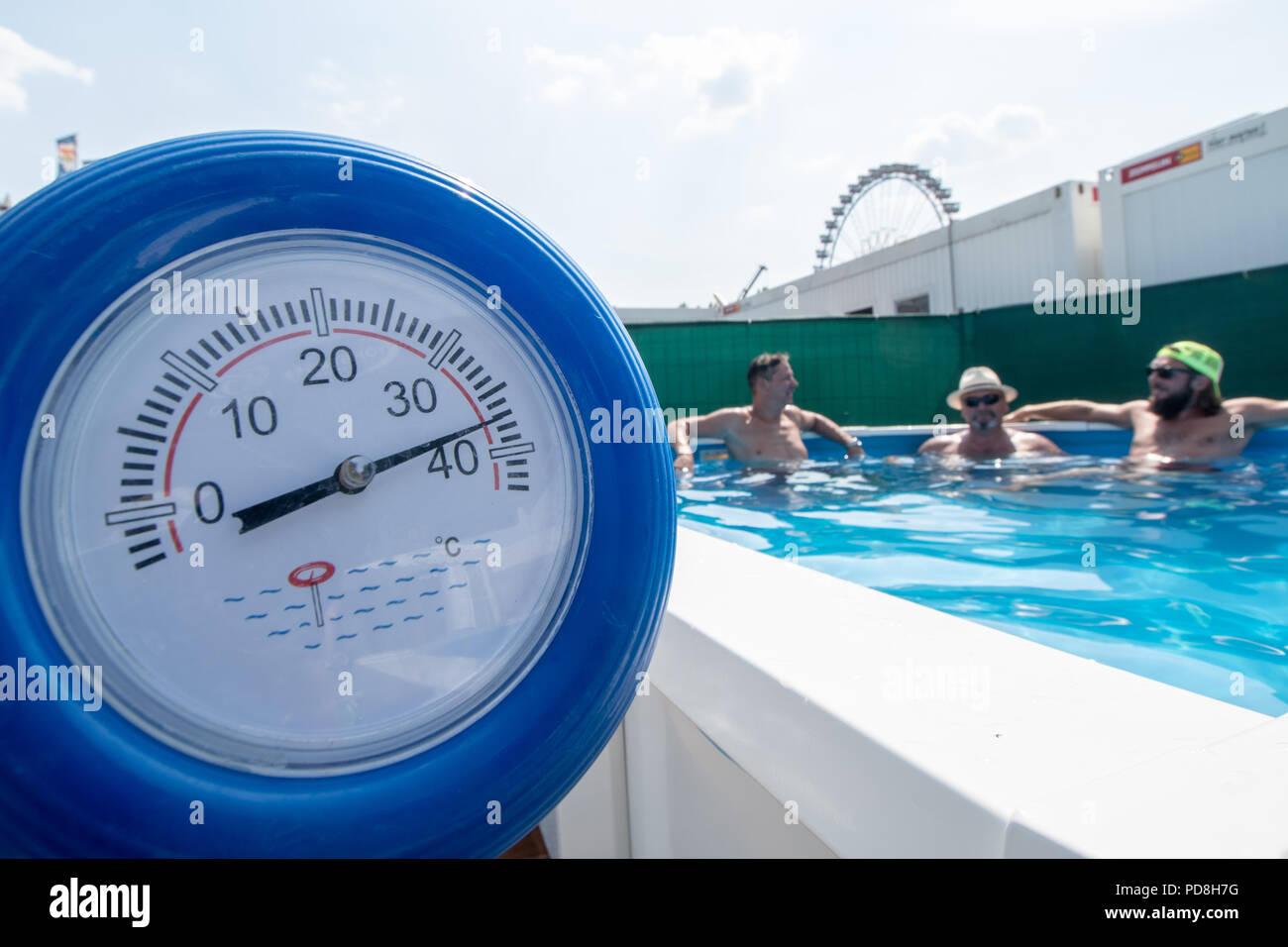 Temperature of 38 degrees 79