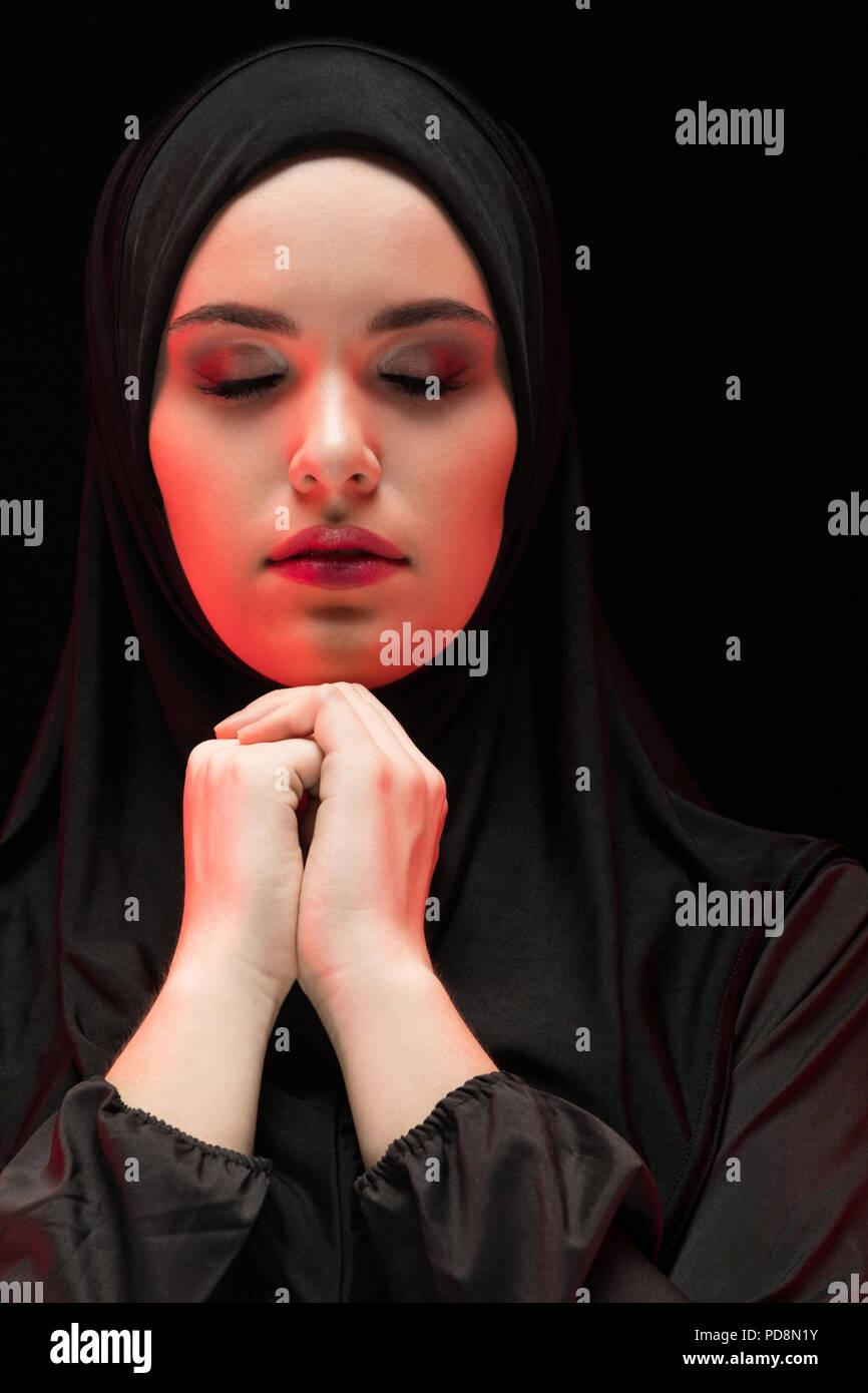 Hijab Beautiful Eyes Stock Photos Amp Hijab Beautiful Eyes