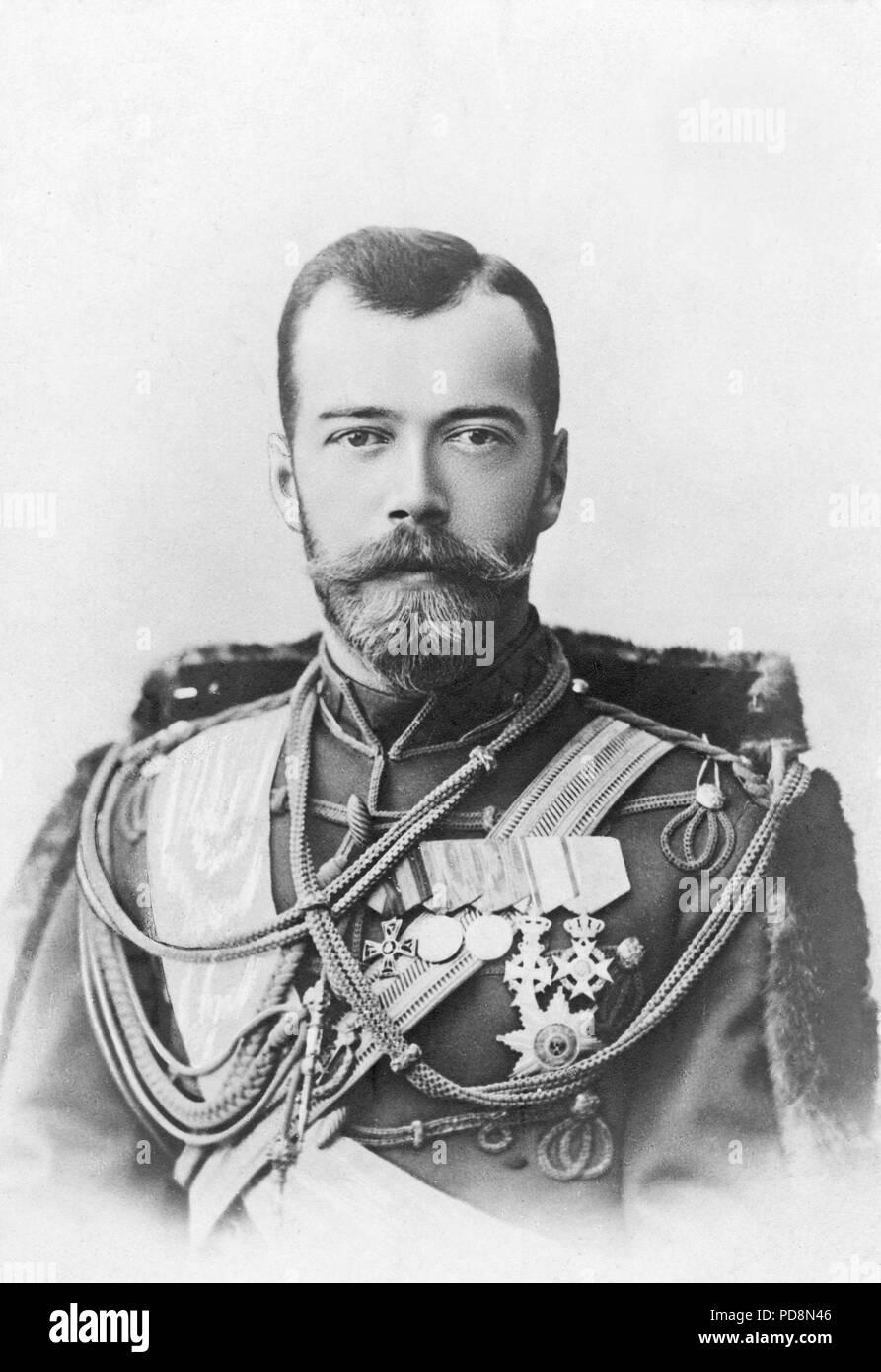 Tsar Nicholas Ii Of RussiaStock Photos and Images