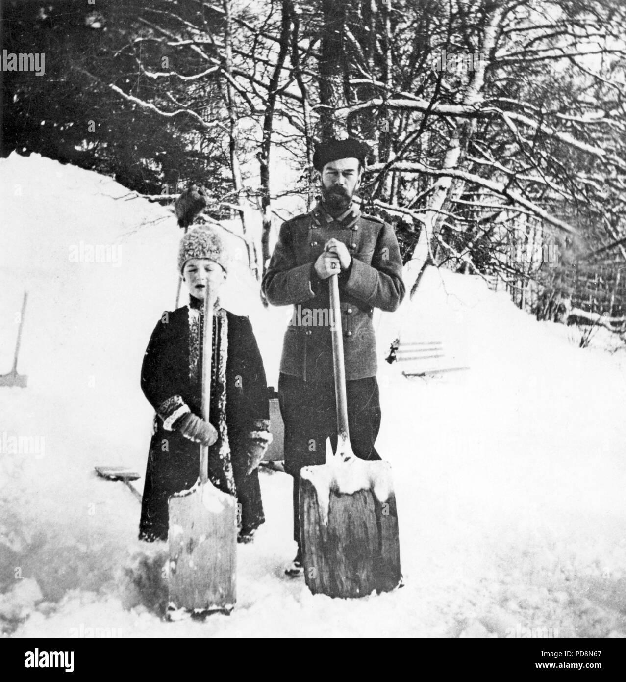 Czar Nicholas Ii 1917Stock Photos and Images
