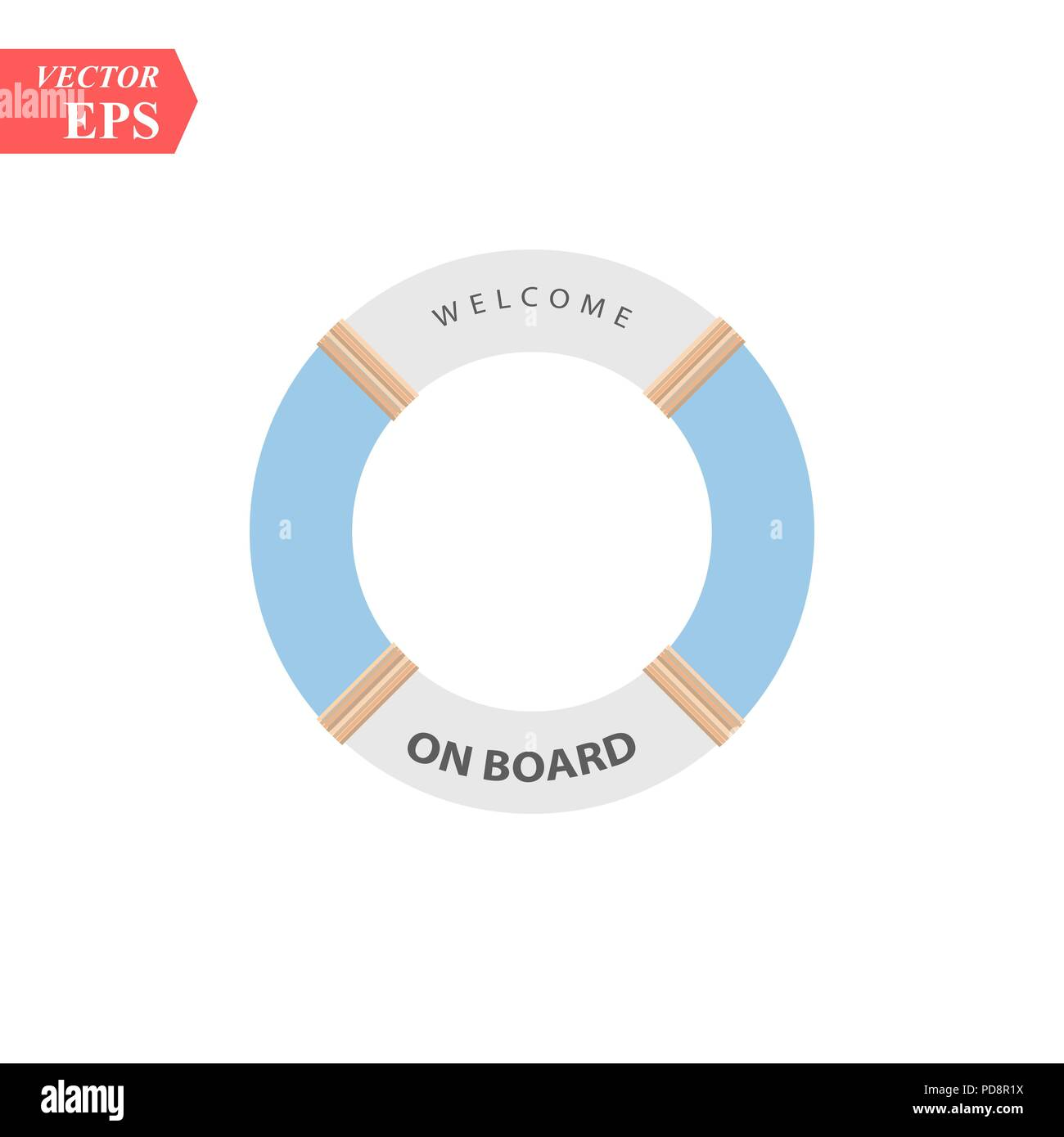 Lifeboat float icon, vector illustration design. Travel icons. - Stock Vector