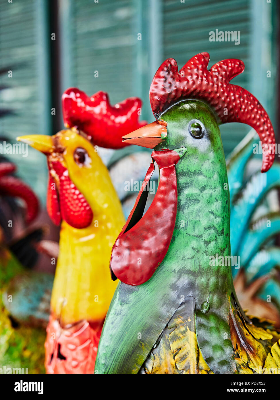 Metal Rooster Stock Photos Metal Rooster Stock Images Alamy