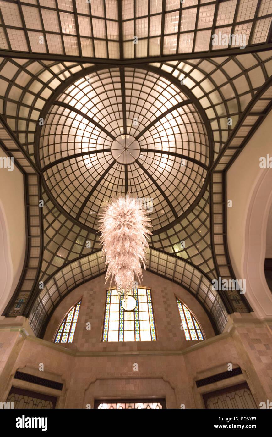 Four Seasons Hotel, Foyer Stock Photo