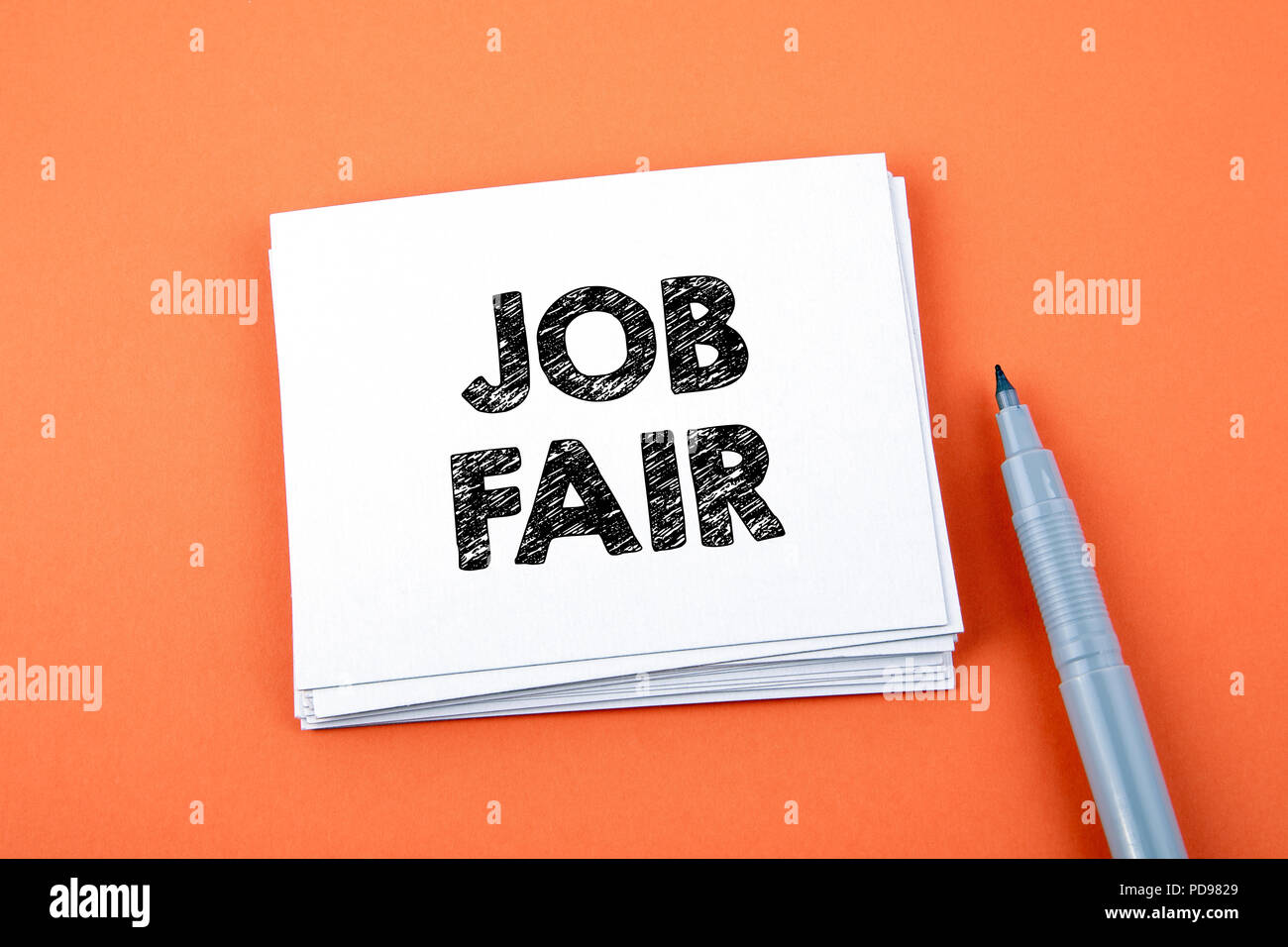 Job Fair, Business Concept - Stock Image
