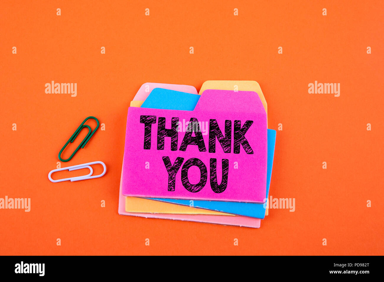 Thank You, Business Concept - Stock Image