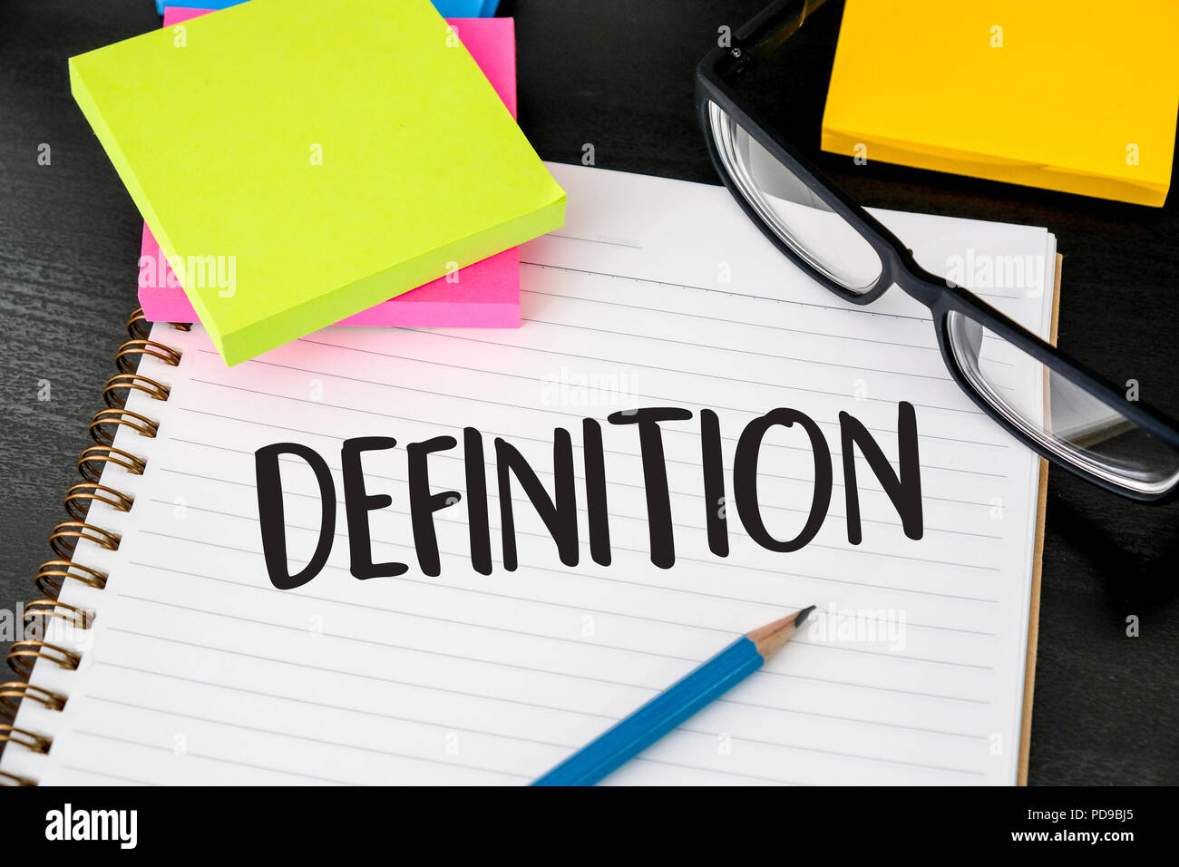 definition word business concep stock photo 214721645 alamy
