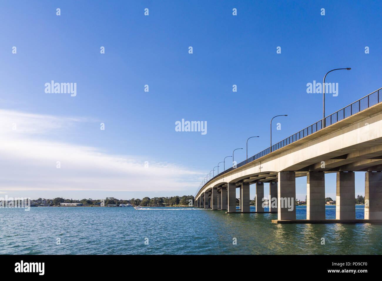 The Captain Cook Bridge in Sydney Stock Photo