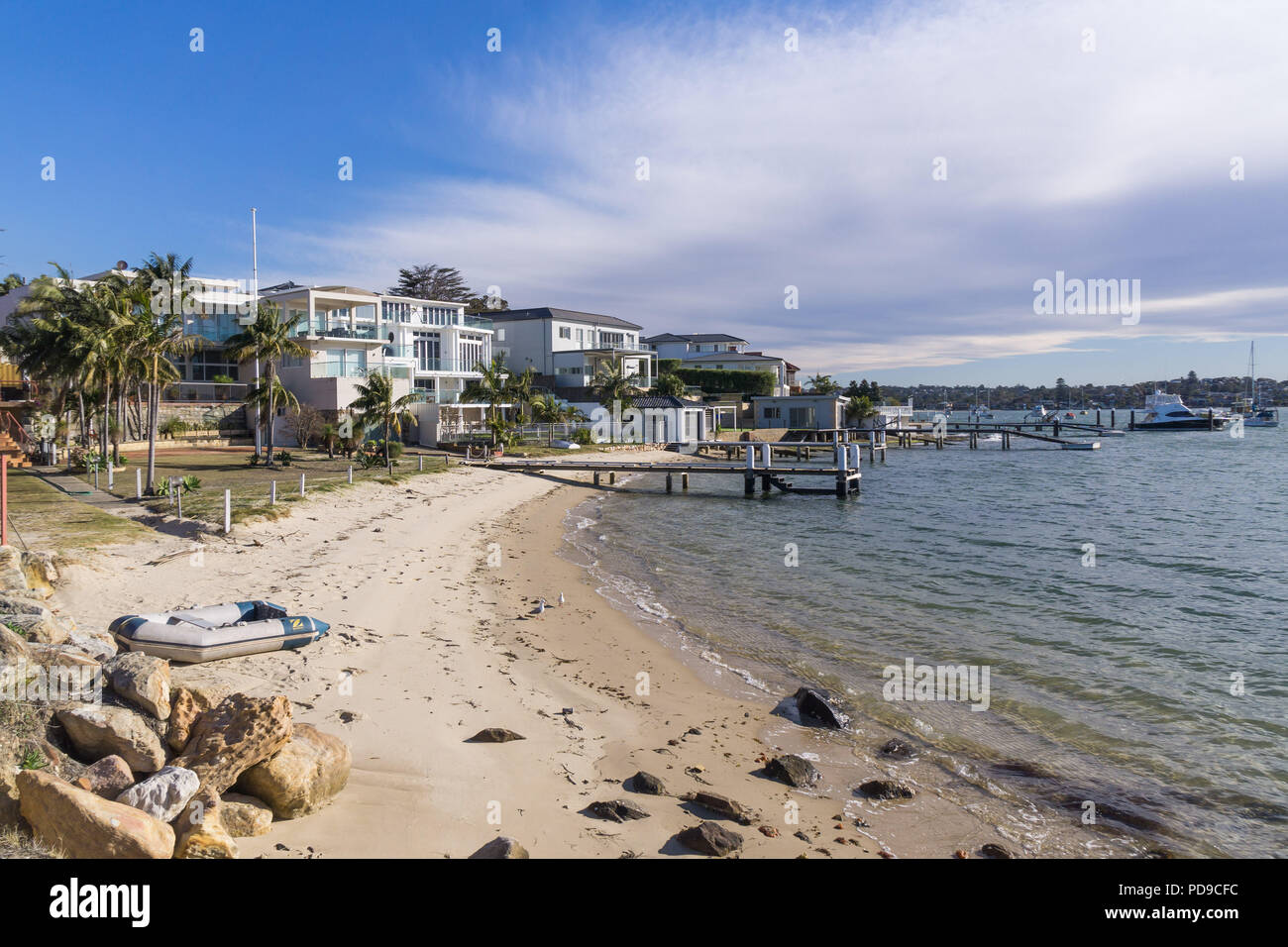 Housing in Taren Point, Sydney, New South Wales Stock Photo