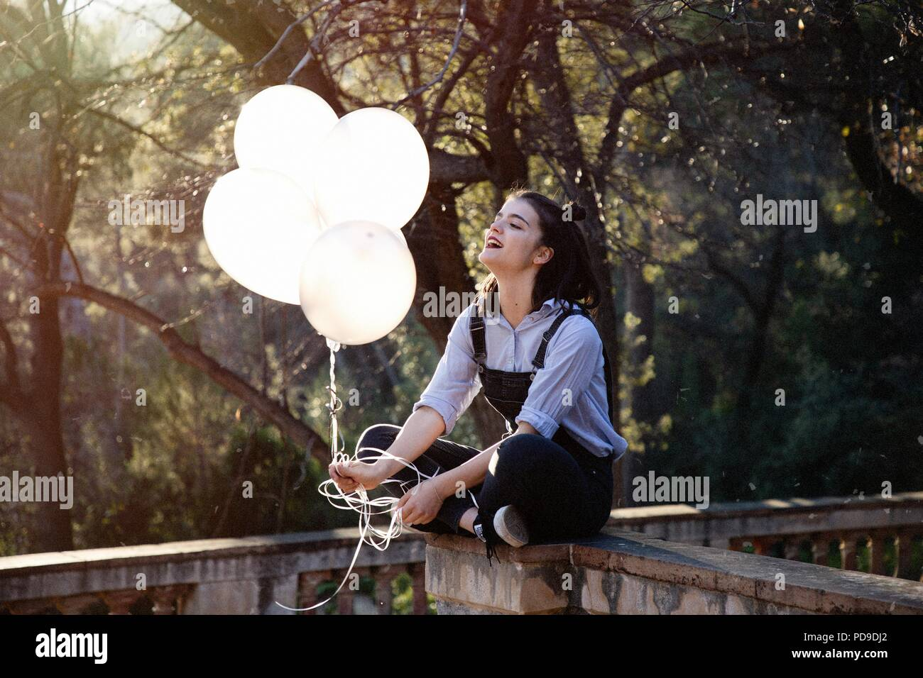 Simple happiness - Stock Image