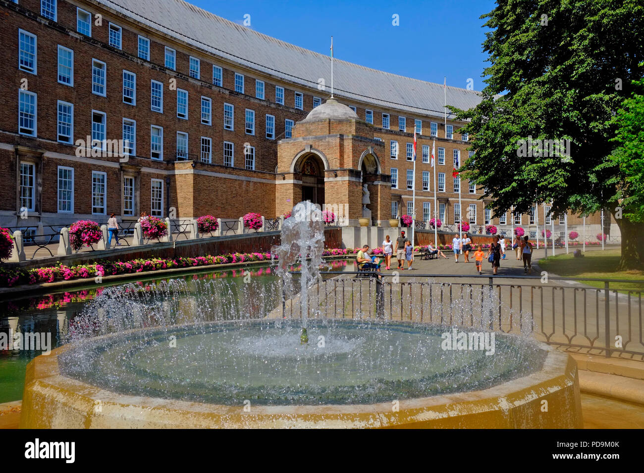 Bristol Council House or City Hall, Bristol, UK - Stock Image
