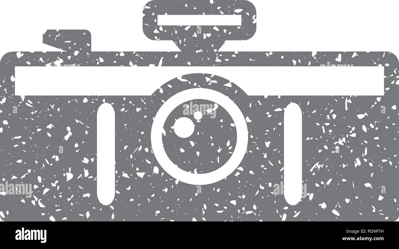 Grunge Camera Vector : Grunge icon panorama camera stock vector art & illustration
