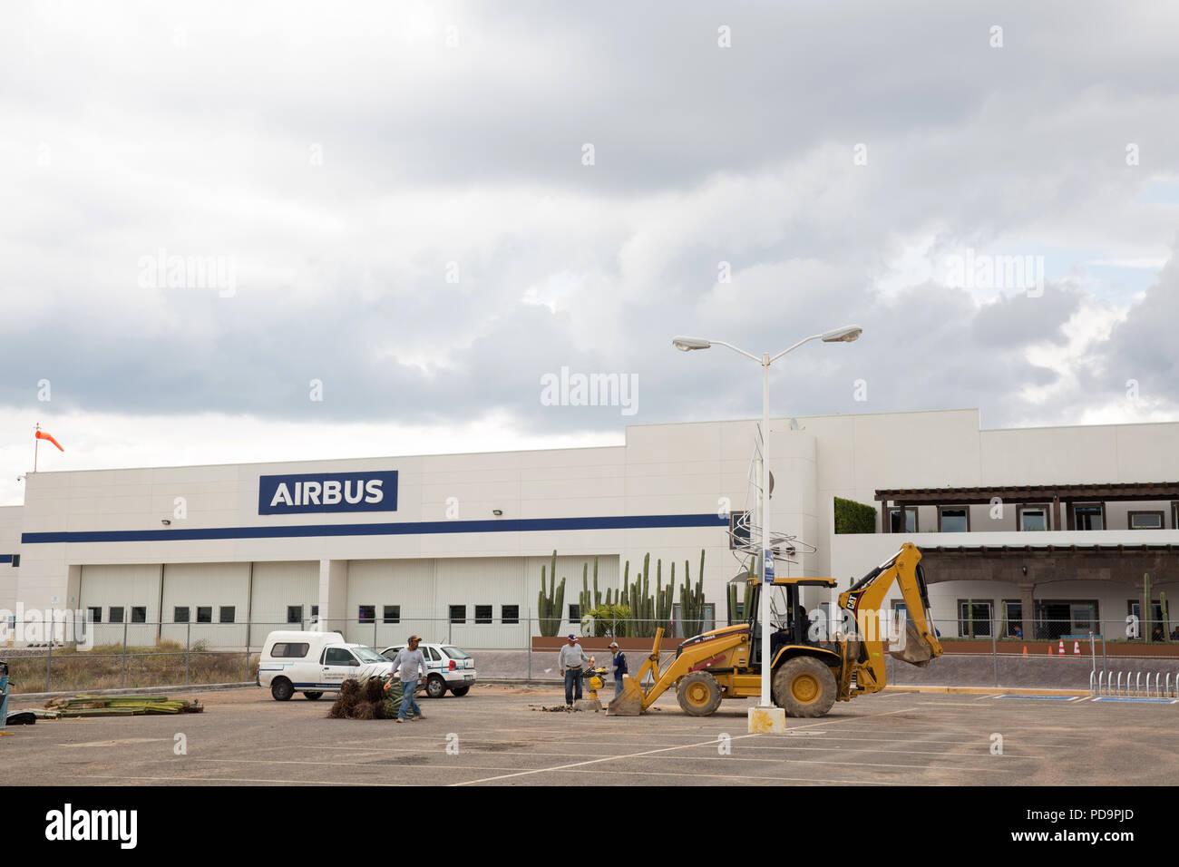 An Airbus SE plant in Querétaro, Querétaro state, Mexico on June 19, 2018. Photo credit by Bénédicte Desrus - Stock Image