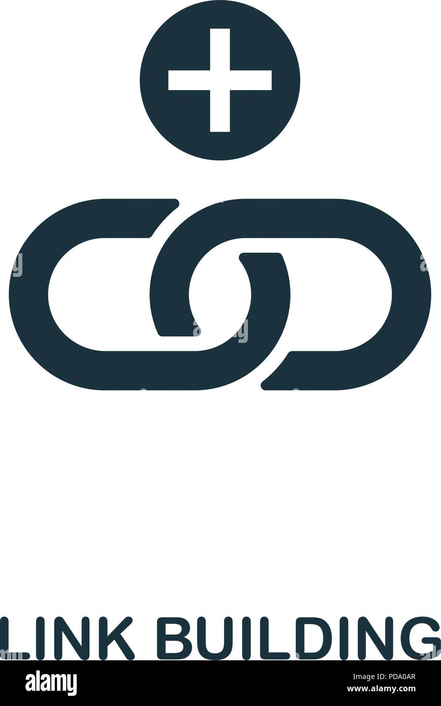 Link Icon Linked Symbol Flat Stock Photos Link Icon Linked Symbol