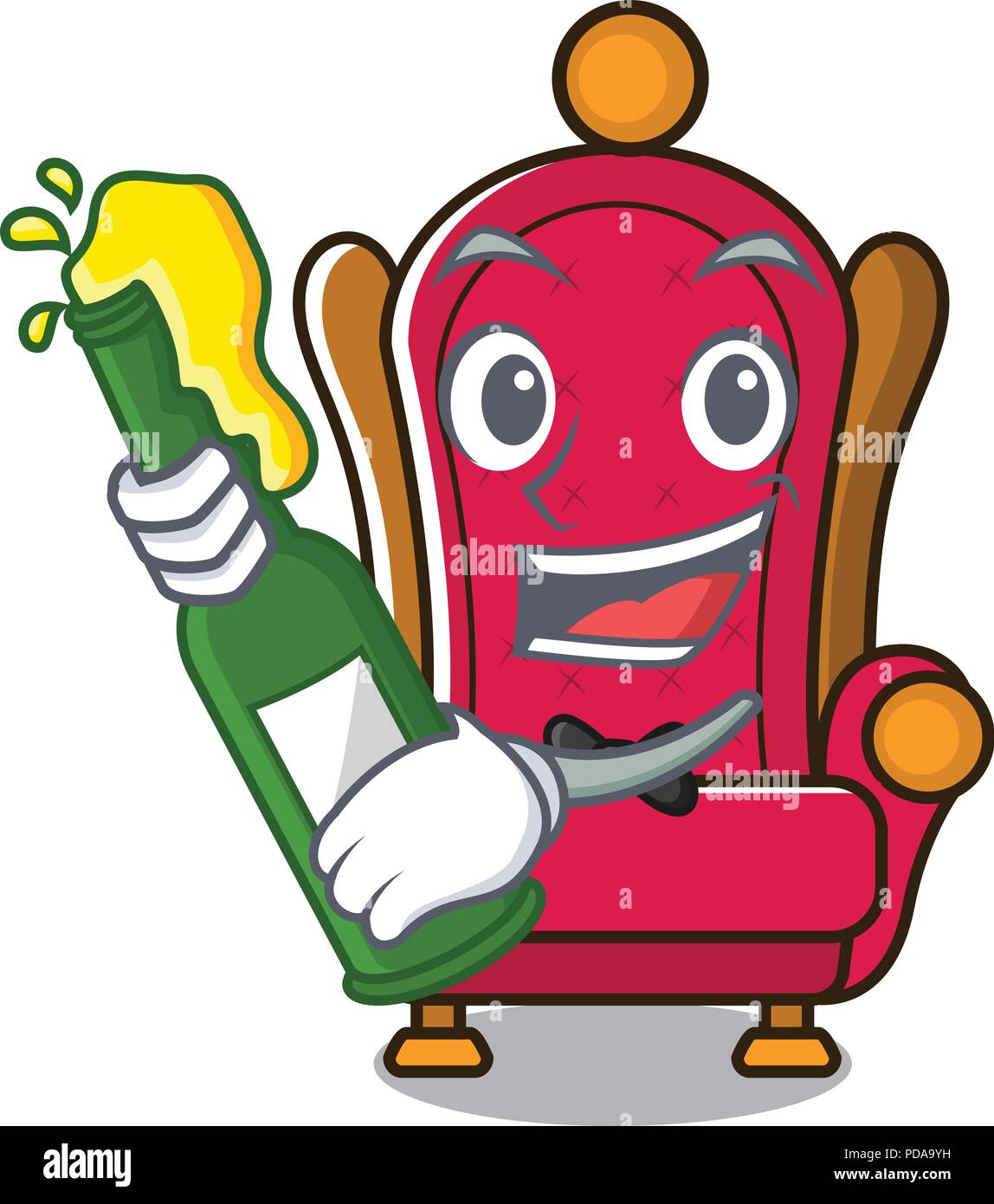 Free King On Throne Clip Art with No Background - ClipartKey