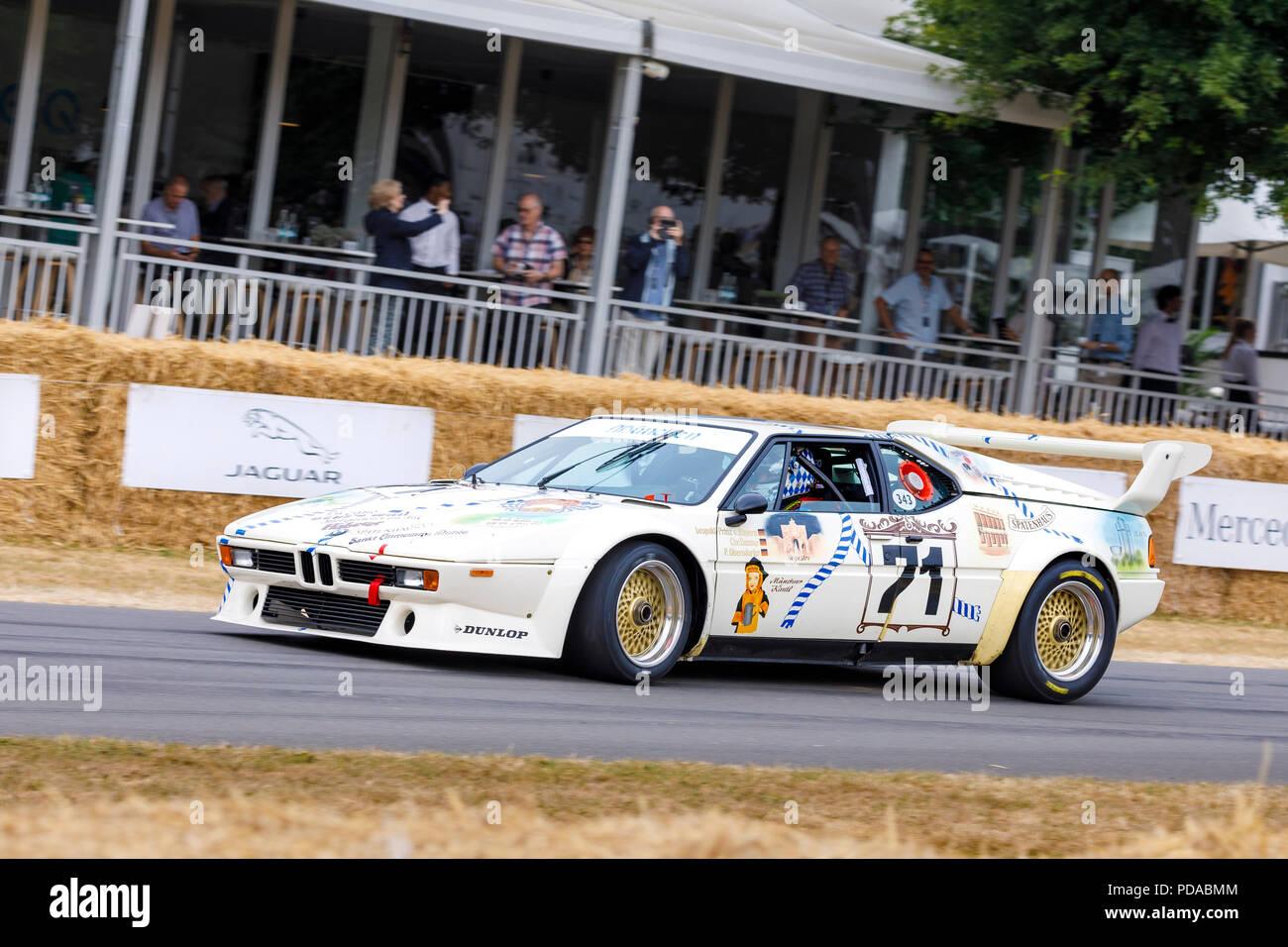 1979 Bmw M1 Procar Sports Racer With Driver Leopold Von Bayern At