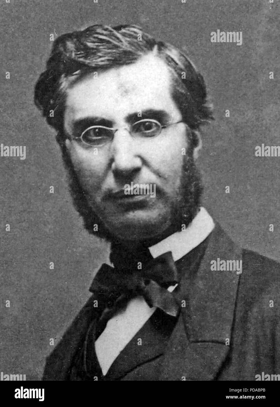 EMILE OLLIVIER (1825-1913) French statesman - Stock Image