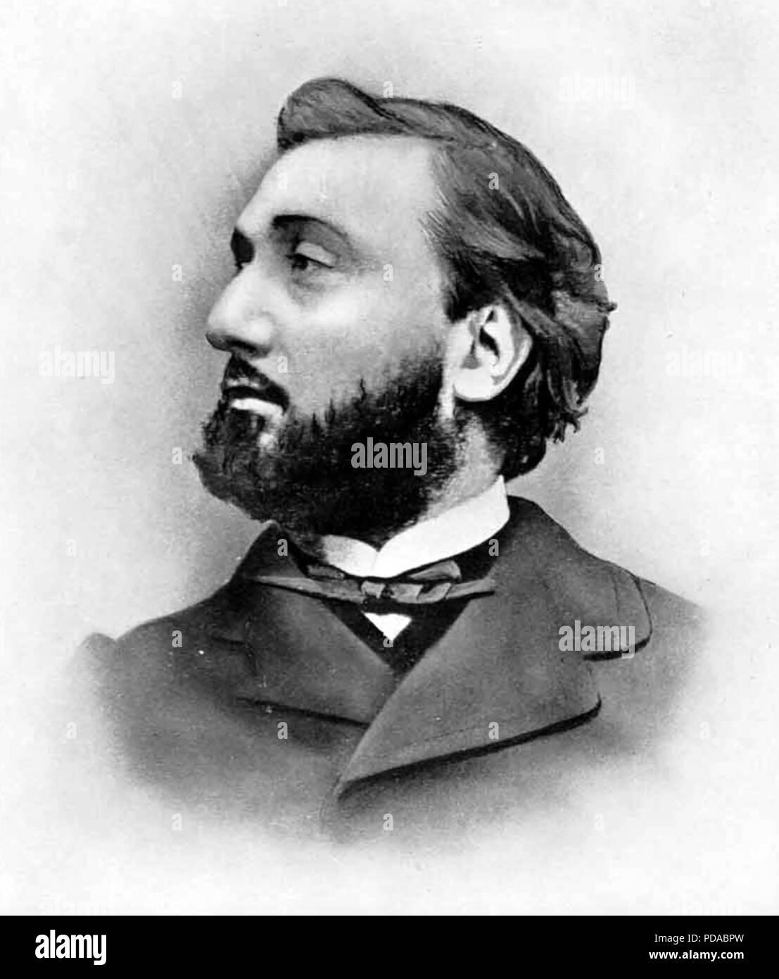 LEON GAMBETTA (1838-1882) French statesman - Stock Image