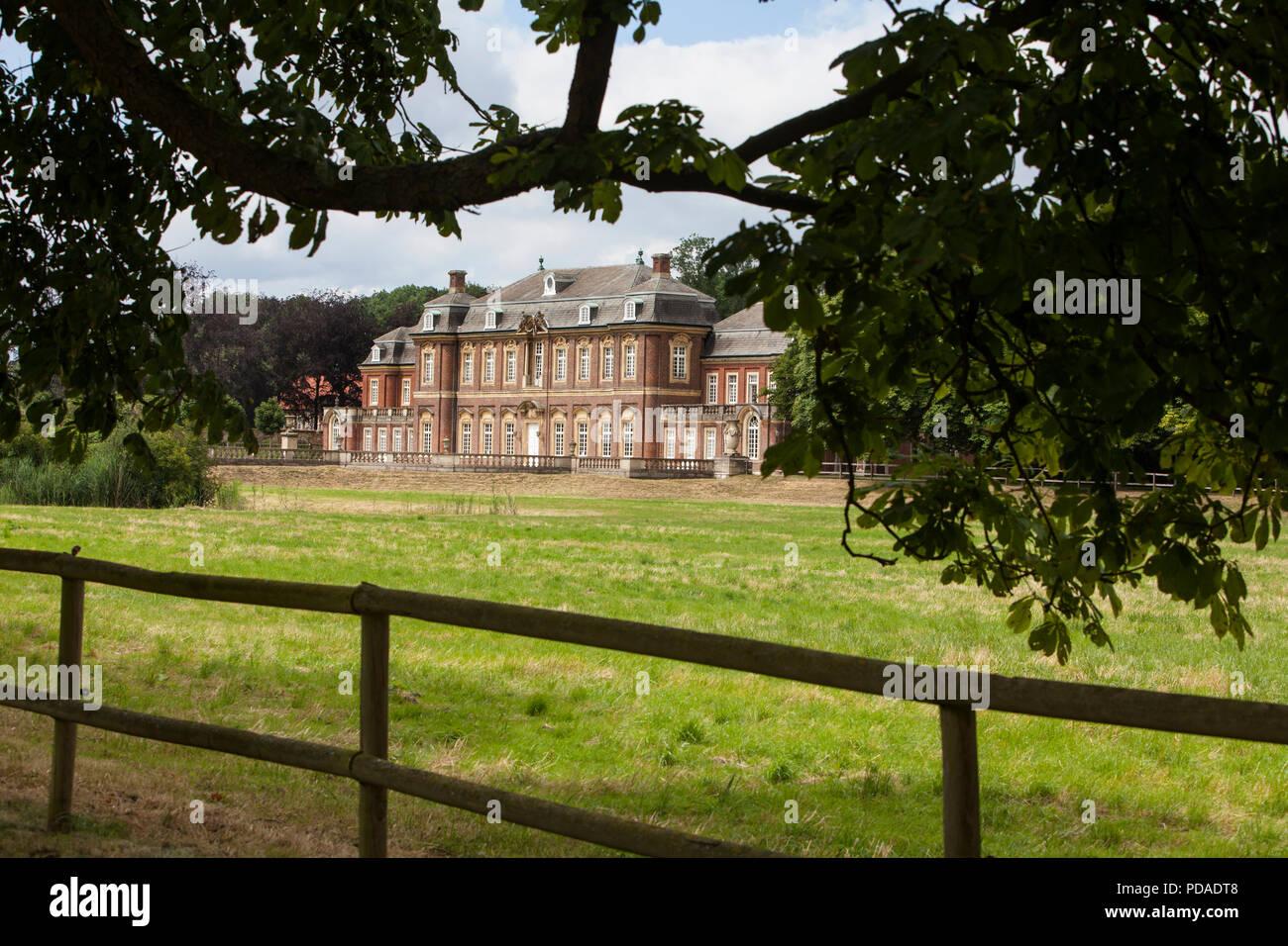 Oranienburg  Castle, Nordkirchen Moated Palace, Germany - Stock Image