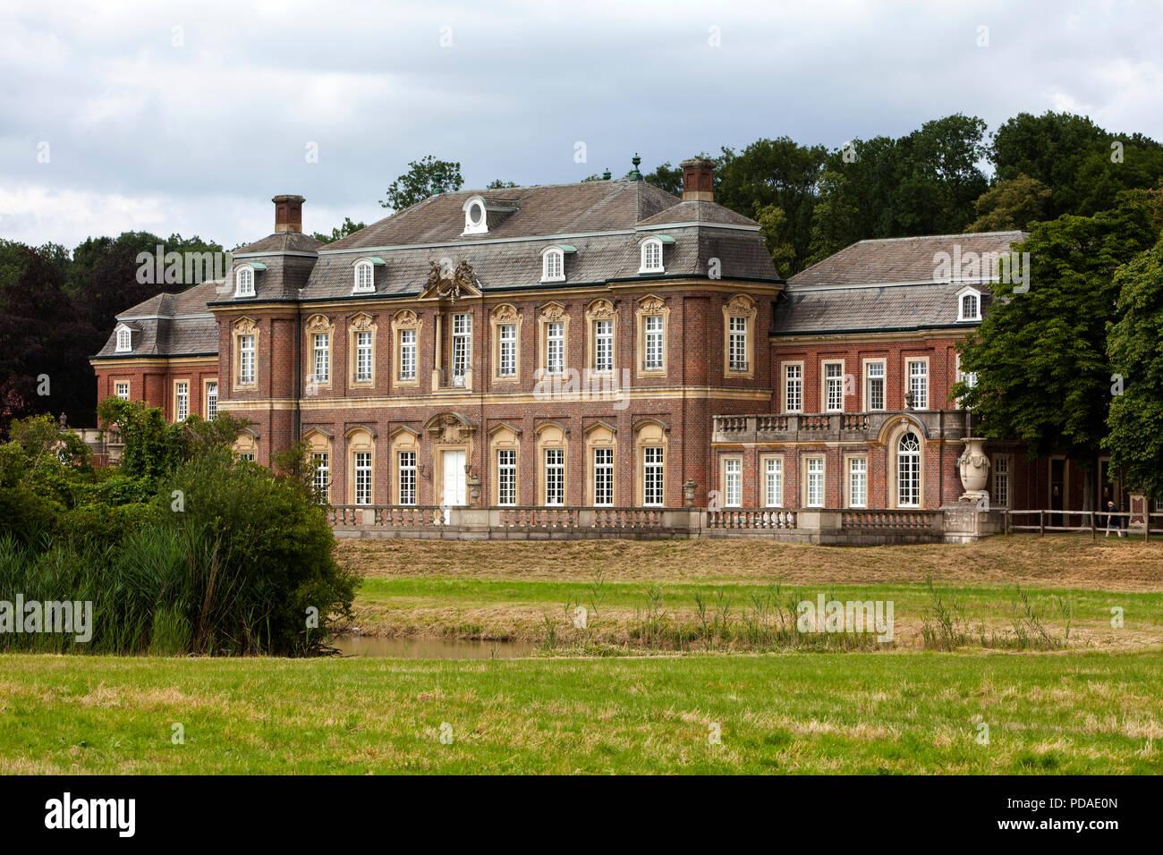 Oranienburg  Castle, Nordkirchen Moated Palace, Germany Stock Photo